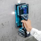 MAKITA DWD181ZJ akkus falszkenner géptest 18V LXT XPT MakPac kofferben
