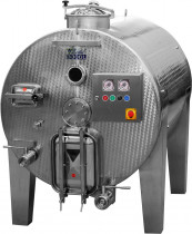 Horizontálny fermentor rmutu