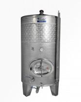 Cisterny na víno s chladiacim plášťom