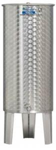 Hlavný obraz produktu Nerezová nádrž s plávajúcim vekom INOX, 100 l