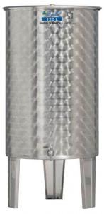 Hlavný obraz produktu Nerezová nádrž s plávajúcim vekom INOX, 120 l