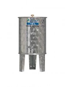 Hlavný obraz produktu Nerezová nádoby s plávajúcim vekom INOX, 12 l