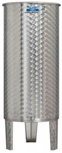 Hlavný obraz produktu Nerezová nádrž s plávajúcim vekom INOX, 180 l
