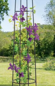 Hlavný obraz produktu Nortene OBELISK stĺpovitá opora pre rastliny hnedy 2m
