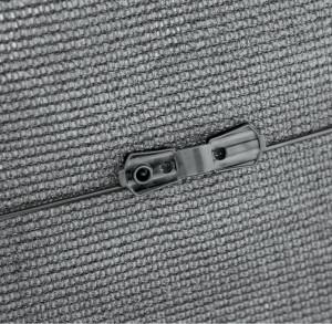 Hlavný obraz produktu Nortene Fixatex fixatér siete sivý 20ks 2x2,5 cm