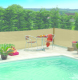 Nortene Extranet slnečné tienidlo farba piesku 1,5x50m