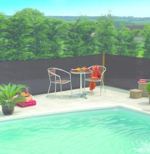 Hlavný obraz produktu Nortene Extranet slnečné tienidlo antracit 2x50 m