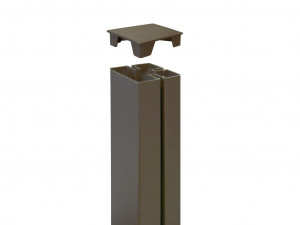 Hlavný obraz produktu Nortene TAP ALUPOST (2) ks - antracit