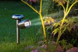 Nortene Záhradná solárna lampa Scoop