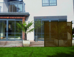 Hlavný obraz produktu Nortene PRIVAT dekoratívny vonkajší panel 1x2 m hnedý
