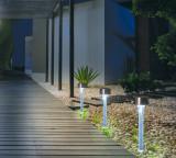 Záhradná solárna lampa Amarys