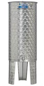 Hlavný obraz produktu Nerezová nádrž s plávajúcim vekom INOX, 50 l