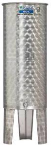 Hlavný obraz produktu Nerezová nádrž s plávajúcim vekom INOX, 60 l