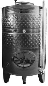 Hlavný obraz produktu Cisterna INOX, 1100 l s duplikovaným chladiacim plašťom