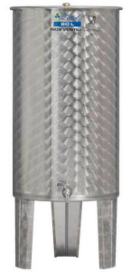 Hlavný obraz produktu Nerezová nádrž s plávajúcim vekom INOX, 80l