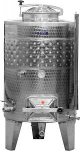 Hlavný obraz produktu ZOTTEL Uzavreté nádrž s jedným chladiacim plášťom a hranatými dverami 300l