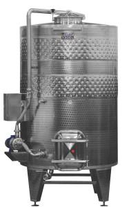 Hlavný obraz produktu ZOTTEL Horizontálny fermentor rmutu 4000l