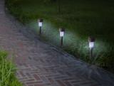Záhradná solárna lampa Astra
