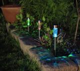 Záhradná solárna lampa Atusa