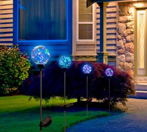 Hlavný obraz produktu Záhradná solárna lampa Bora