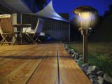 Záhradná solárna lampa Esis