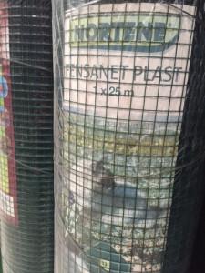 Hlavný obraz produktu Plastovaná zváraná sieť Fensanet Plast 1x25m