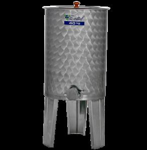 Hlavný obraz produktu Nerezová nádrž na med 40 kg INOX