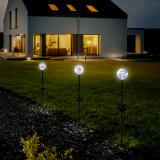 Záhradná solárna lampa Odys