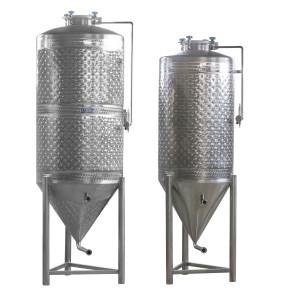 Hlavný obraz produktu ZOTTEL Kónická nádrž pre varenie piva 200 l