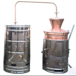 Hlavný obraz produktu Agromex Destilačné zariadenie, 100L