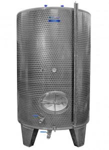 Hlavný obraz produktu Cisterna INOX, 1100 l