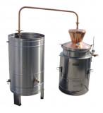 Agromex Destilačné zariadenie, 100L - s duplikovanou stenou