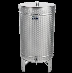 Hlavný obraz produktu Nerezová nádrž na destiláty - stojacia - 200 l