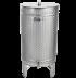 Nerezová nádrž na destiláty - stojacia - 200 l