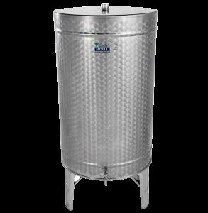 Hlavný obraz produktu Nerezová nádrž na destiláty -  stojacia - 300 l