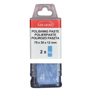 Abraboro Polírozó paszta, fehér, 2 x 50g/csomag termék fő termékképe