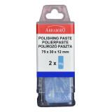 Abraboro Polírozó paszta, kék, 2 x 50g/csomag