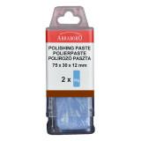 Abraboro Polírozó paszta, barna, 2 x 50g/csomag