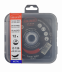 Abraboro 115 x 1.0 x 22 mm CHILI INOX Premium fémvágó korong, 12db/csomag (felakasztható csomagolás)