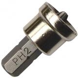 Abraboro 25 mm Dimpler / PH 2 rövid mélységhatárolóval gipszkartonhoz, C 6.3, 5db/csomag