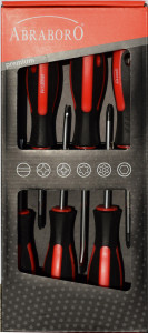 Abraboro 6 részes szigetelt csavarhúzó készlet termék fő termékképe
