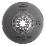 Abraboro STARLOCK Bimetál gyorsacél fűrészlap, Ø 85 mm