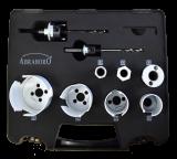 Abraboro HM lyukfűrész készlet (vízsszerelés)