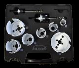 Abraboro HM lyukfűrész készlet (elektromos)