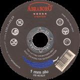 Abraboro 125 x 1.0 x 22 mm CHILI ALU Premium korong, 25db/csomag