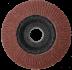 Abraboro 115 x 22 / 120 G-QA lamellás csiszolótányér, 10db/csomag