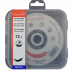 Abraboro 125 x 1.0 x 22 mm CHILI INOX fémvágó korong, 12db/csomag (felakasztható csomagolás)