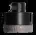 Abraboro 75,0 mm csempe- és kerámiafúró, M14 befogással