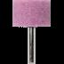 Abraboro 25 x 25 x 6 mm csapos csiszolókő, A-típus, 5db/csomag