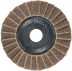 Abraboro 125 x 22 vlies csiszolótányér (barna), durva
